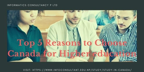 Choose Canada for Higher education