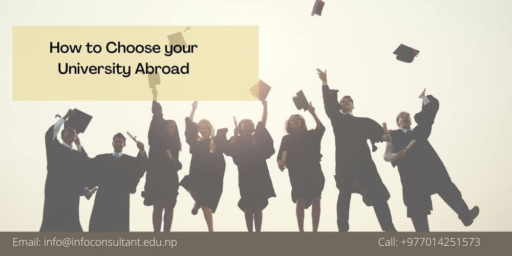 How to Choose your University Abroad