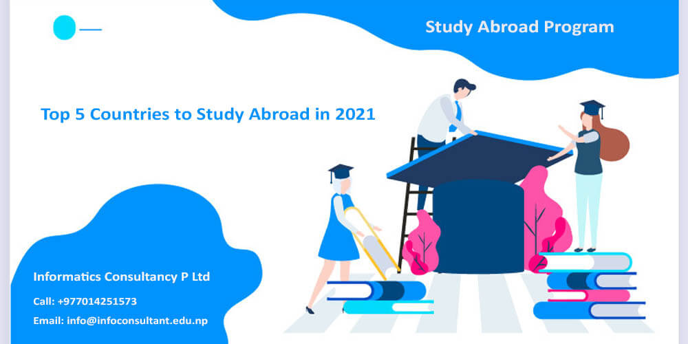 Top 5 Countries to Study Abroad in 2021