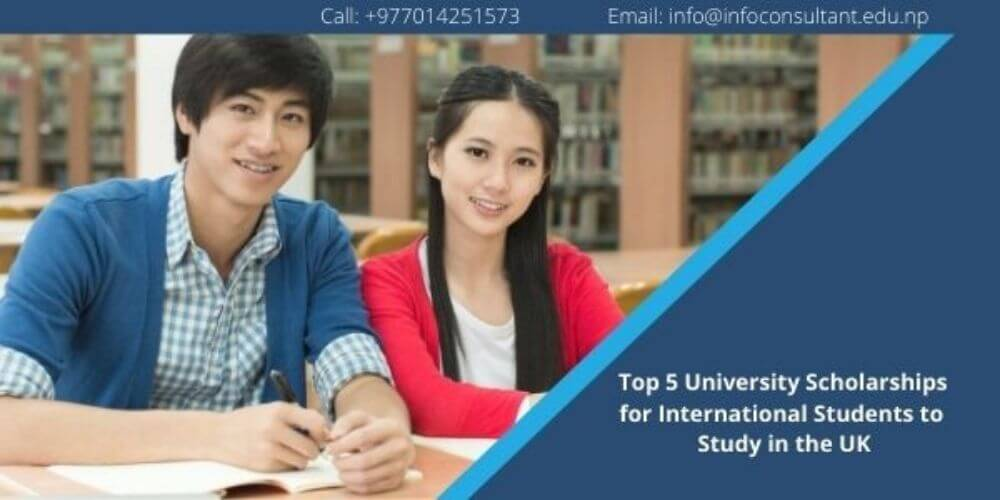 Top 5 University Scholarships for International Students to Study in the UK